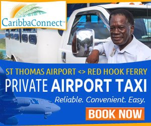 Private Airport Taxi St Thomas Red Hook St John US Virgin Islands