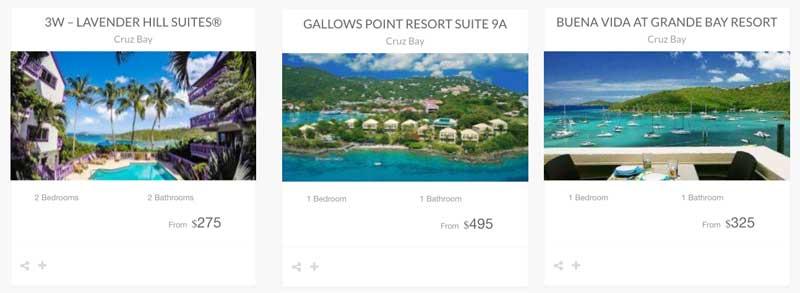 St John Resorts Grande Bay, Gallows Point, Lavender Hill Suites