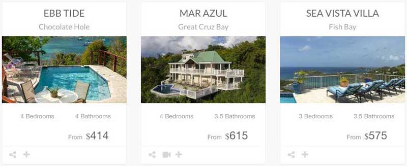 St John vacation rental places to stay